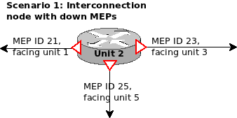 Interconnection R-APS node