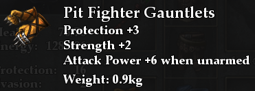 Pit Fighter Gauntlets