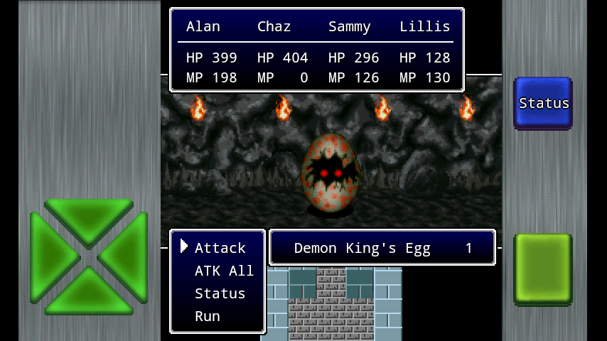 Demon King's Egg in Gailardia 3
