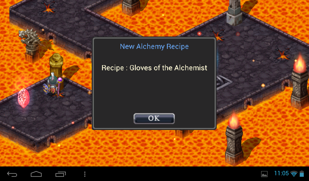 Gloves of the alchemist.